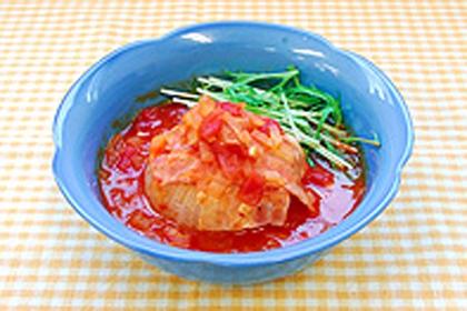 トマト 玉ねぎ スープ