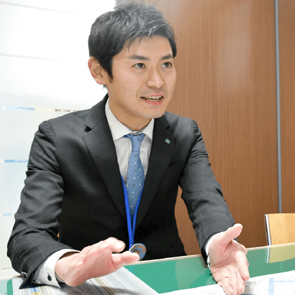 資産相談 酒井 恵太 2010年入組 主任