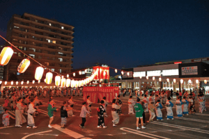 女性部主催の盆踊り大会