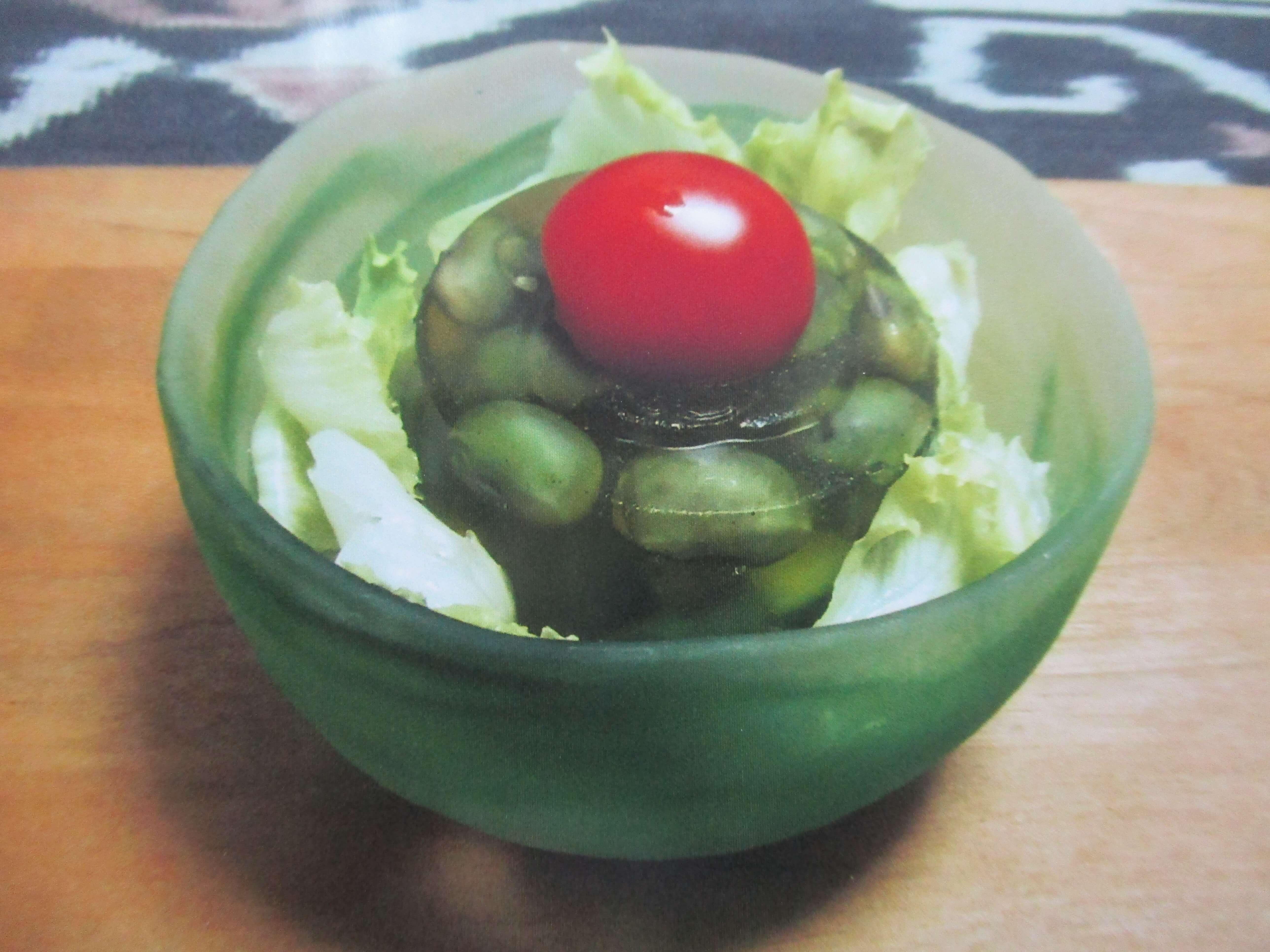 夏野菜プルプルゼリー